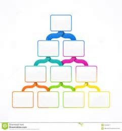 pyramid hierarchy template royalty free stock photography