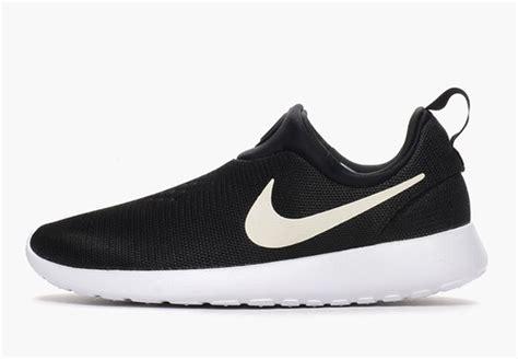 Nike Slipon 03 nike roshe run slip on black white sneakernews