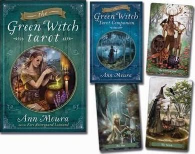 libro the green witch tarot the green witch tarot ann moura 9780738741659