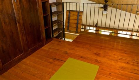 tiny 278 sq ft zen 200 sq ft zen in tiny house with murphy bed in the loft