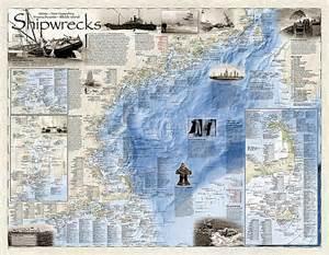 carolina shipwreck map national geographic shipwreck maps terra maps