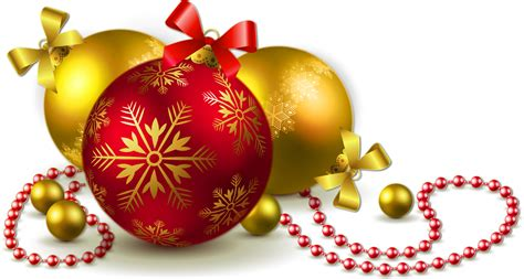 holiday cocktails png gold and red transparent christmas balls png clipart