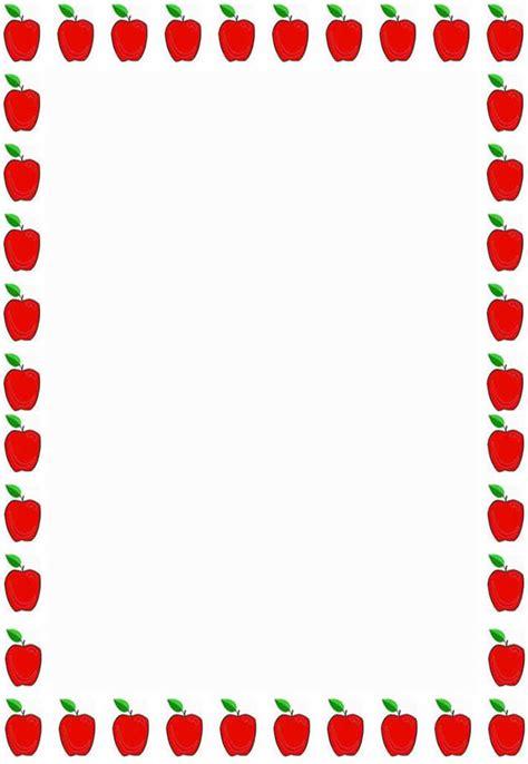 Apple Border Clipart apple border clipart