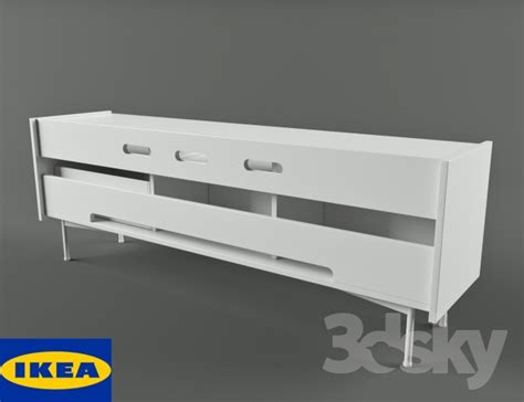 3d models sideboard chest of drawer ikea undredal 3d models sideboard chest of drawer ikea tv bench
