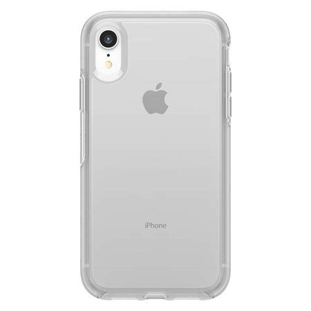 otterbox symmetry series for iphone xr clear walmart