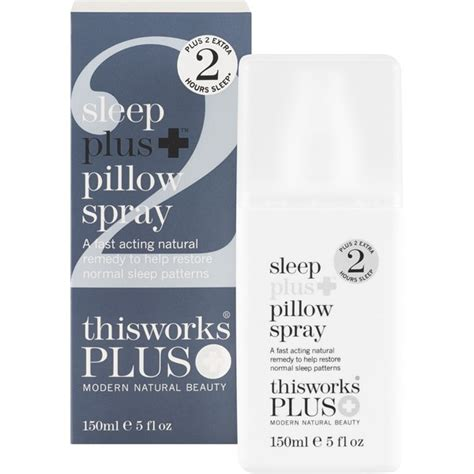Sleep Pillow Spray This Works by This Works Sleep Plus Pillow Spray 150ml