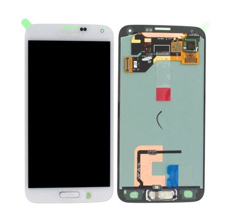 Lcd W880i samsung g900f galaxy s5 lcd display module white gh97