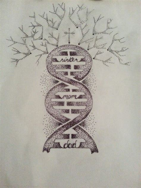 dna tree tattoo quot family tree quot dna dna