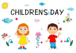 happy childrens day concept free vector