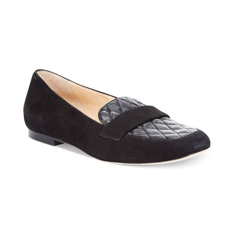 flats and loafers lyst cole haan womens dakota loafer flats in black