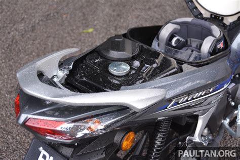 honda futere tunggang uji honda future fi kapcai 125 cc yang kita