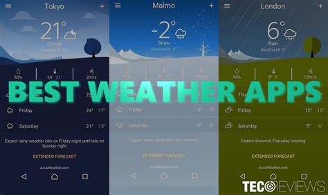 best weather apps 10 best weather apps tecoreviews