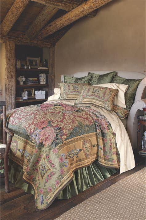 tapestry coverlet bedding shop houzz soft surroundings mas la barque tapestry