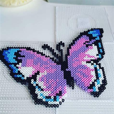 perler butterfly butterfly hama by mrs soellingvraa perler bead