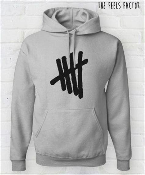 Jaket Sweater 5sos 1 tally hoodie 5sos sweatshirt by thefeelsfactor on etsy 40 00 band merch