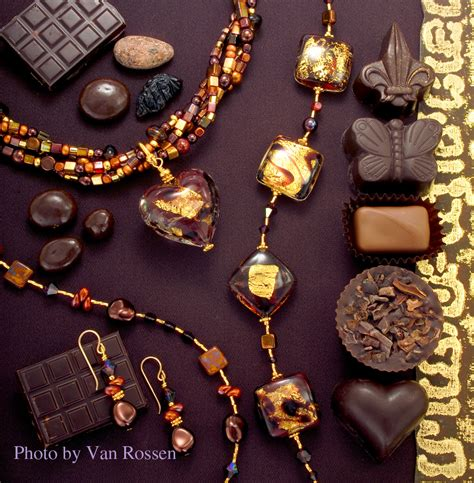 bead catalogs catalog cover chocolate beads jewelry photography