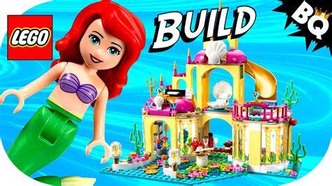 Lego Princess Ariel Mermaid Sy761c Lego Mermaid Ariel S Undersea Palace 41063 Disney