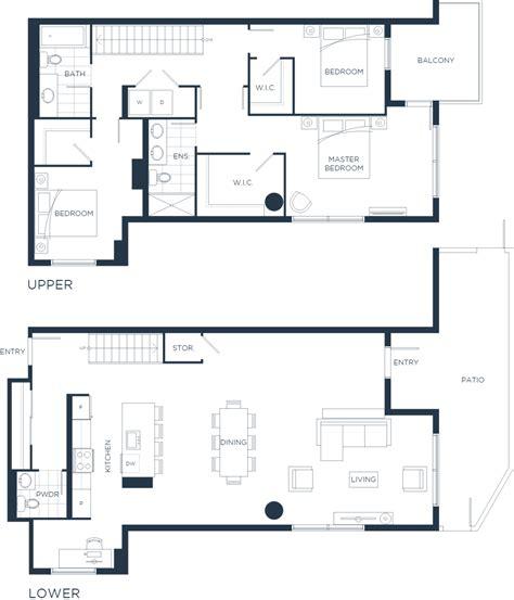design blueprint plan th8 one water street