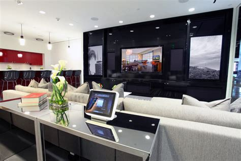 espacios design studio crestron showroom ca