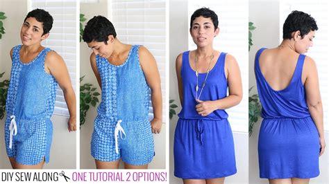 DIY Romper & Dress Sew Along w/ Mimi G   YouTube