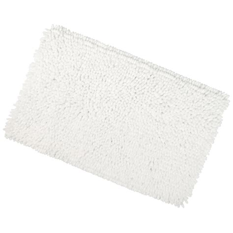 bathroom rugs with non skid backing shaggy microfibre bathroom shower bath mat rug non slip