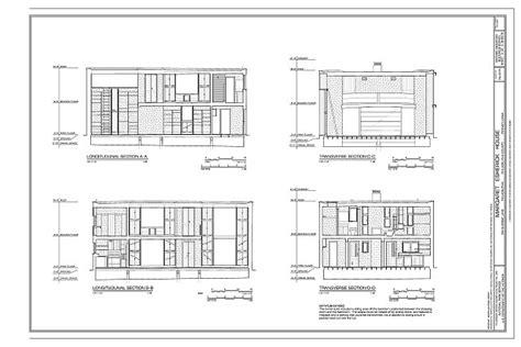 margaret esherick house sections margaret esherick house 204 sunrise lane philadelphia philadelphia