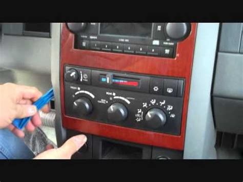 dodge durango stereo removal   youtube
