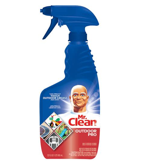mr clean bathroom products mr clean outdoor pro multi purpose spray grill cleaner review