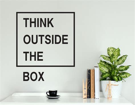 think outside the box your decal shop nz designer wall