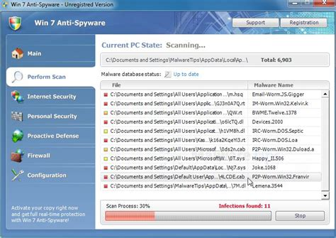 manual removal of harmful files antispyware remove win 7 anti spyware removal instructions