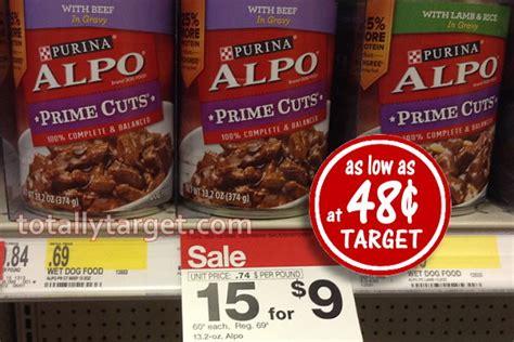 dog food coupons alpo new purina alpo dog food coupon 48 162 at target