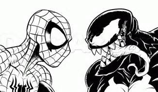 spiderman venom free coloring pages art coloring