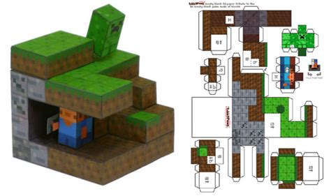 Minecraft Folding Paper - minecraft gaming zone