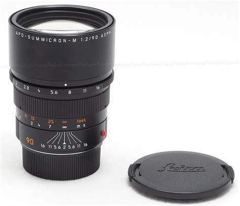 leica usa leica 90mm f 2 0 asph apo summicron m 6 bit lens 11884