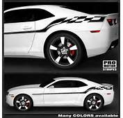 Details About Chevrolet Camaro Yenko Checkered Flag Side Stripes Decal