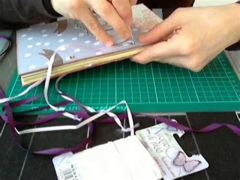 scrapbooking tutorial ricettario scrapbooking tutorial creare un ricettario youtube