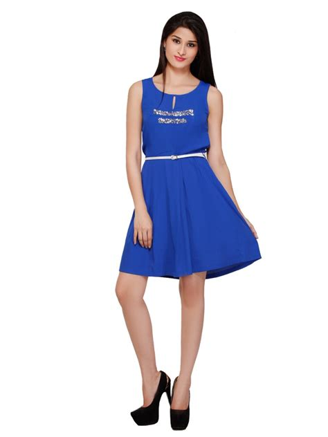 Blue Electric Dress mishka electric blue dress mf884 cilory