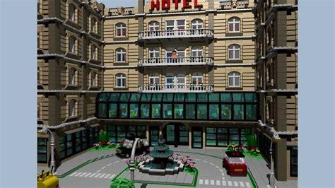 interior creator lego hotel detailed interior