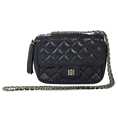 Quilted Crossbody Bags by Navy Givenchy Quilted Leather Crossbody Bag At 1stdibs