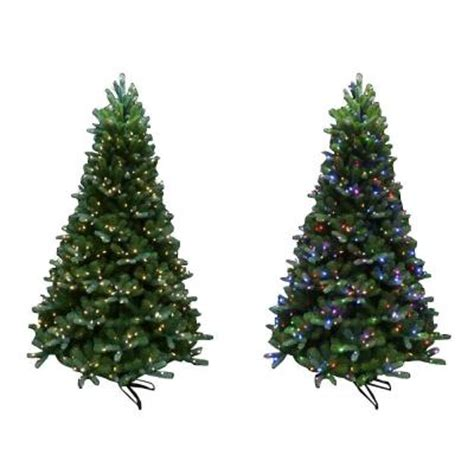 home accents holiday 7 5 ft mount everest spruce ez power