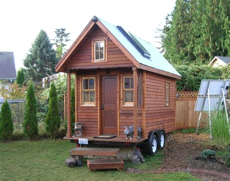 Small Homes Book Tiny House Williams On Book Tour Tiny House