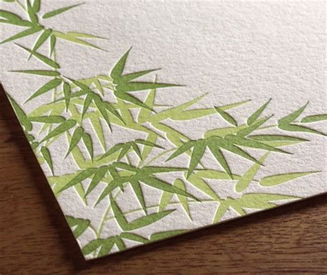 Bamboo Paper Wedding Invitations by Going Green With Wedding Invitations Bamboo Paper For Eco