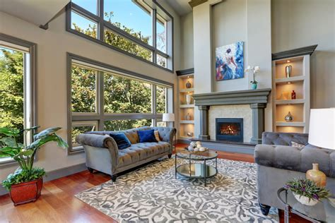 examples  living rooms  area rugs