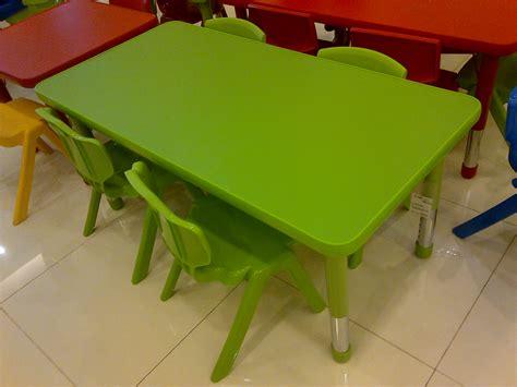 Meja Plastik Panjang meja plas adjus persegi panjang mainan kayu