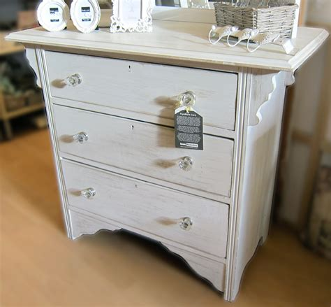 Painted Pine Small Chest of Drawers