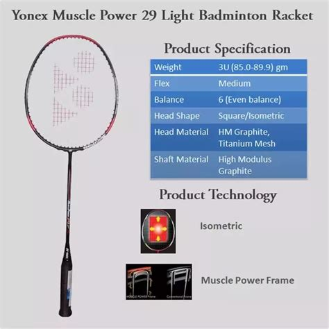 Raket Yonex Power 29 Light which is the best badminton racket to buy within rs 2000 quora