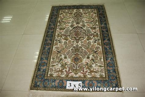 how big is 3x5 rug size 3x5 handmade silk rug b13 3x5 yilong china manufacturer carpet household