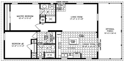 2 Bedroom Mobile Home Inside 2 Bedroom Mobile Home Floor 2 Bedroom House Plans One Level Doublewide
