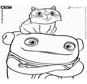 Oh From The Home Movie Colouring Pages Page 2