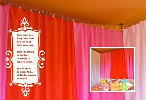 curtain wire room divider installing cable wire for hanging curtains sew4home